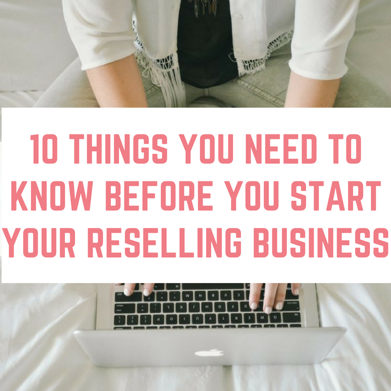 Consider Before Getting Involved In Reselling Business